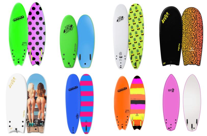 Foam Surfboard Buyers Guide (2019)   Beginner Surf Gear